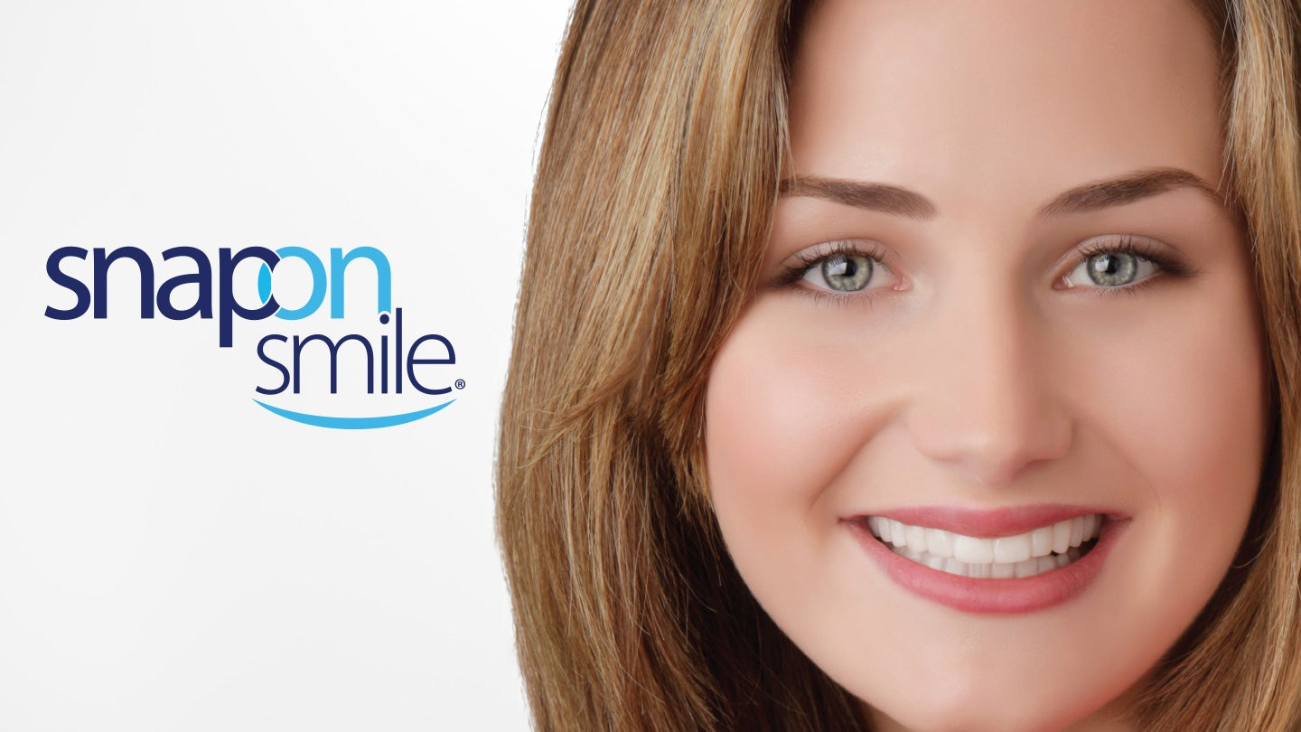 Learn more about our non-invasive, removable esthetic appliance or find a dentist in your area that prescribes Snap-On Smile®