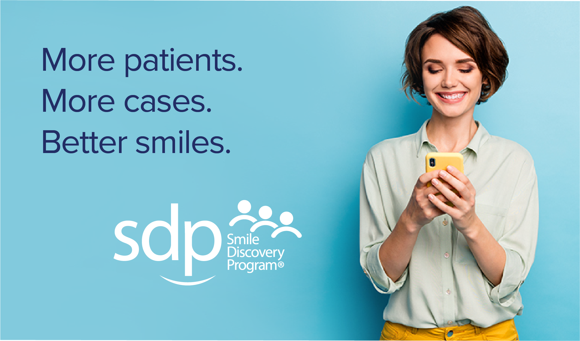 DENMAT LAUNCHES NEW SMILE DISCOVERY PROGRAM®, A UNIQUE MARKETING PROGRAM THAT HELPS PRACTICES ACQUIRE NEW PATIENTS AND INCREASE CASE ACCEPTANCE