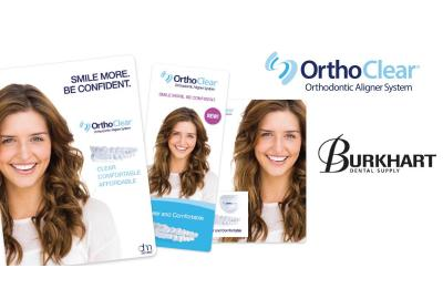 DenMat partners with Burkhart Dental Supply to offer OrthoClear® clear aligners to Burkhart's customers throughout the United States.