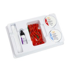 Dental Core Build-Up - Core Paste Jars White Fluoride Kit