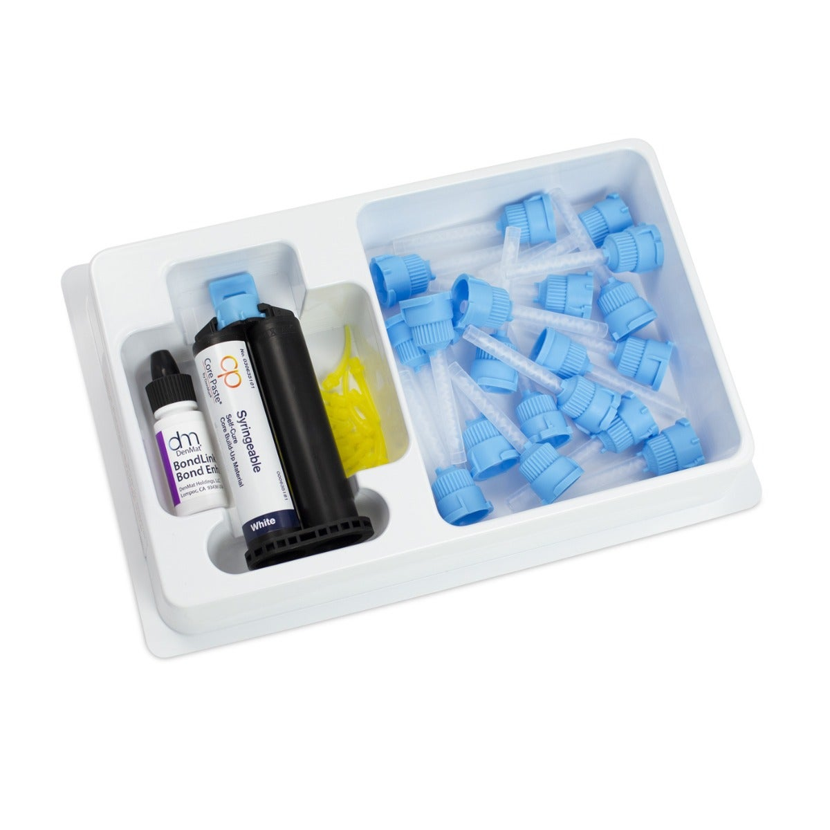 Dental Core Build-Up - White Self-Cure Refill Kit