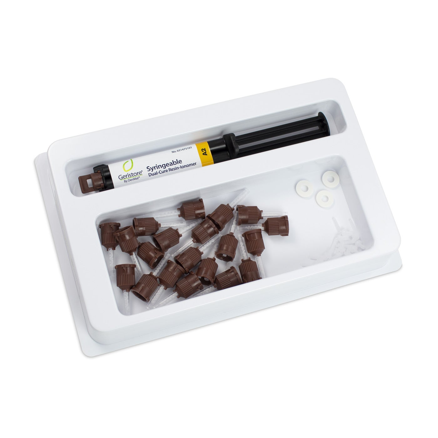 Dental Resin-Ionomer - Geristore Syringeable Kit A2