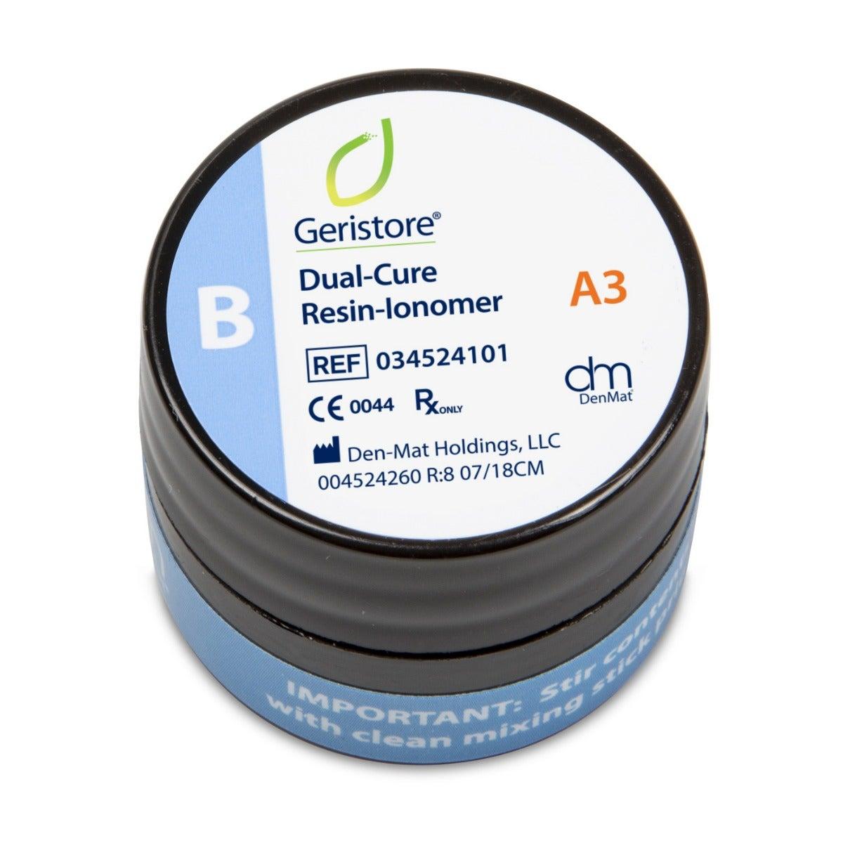 Dental Resin-Ionomer - Geristore B Paste A3