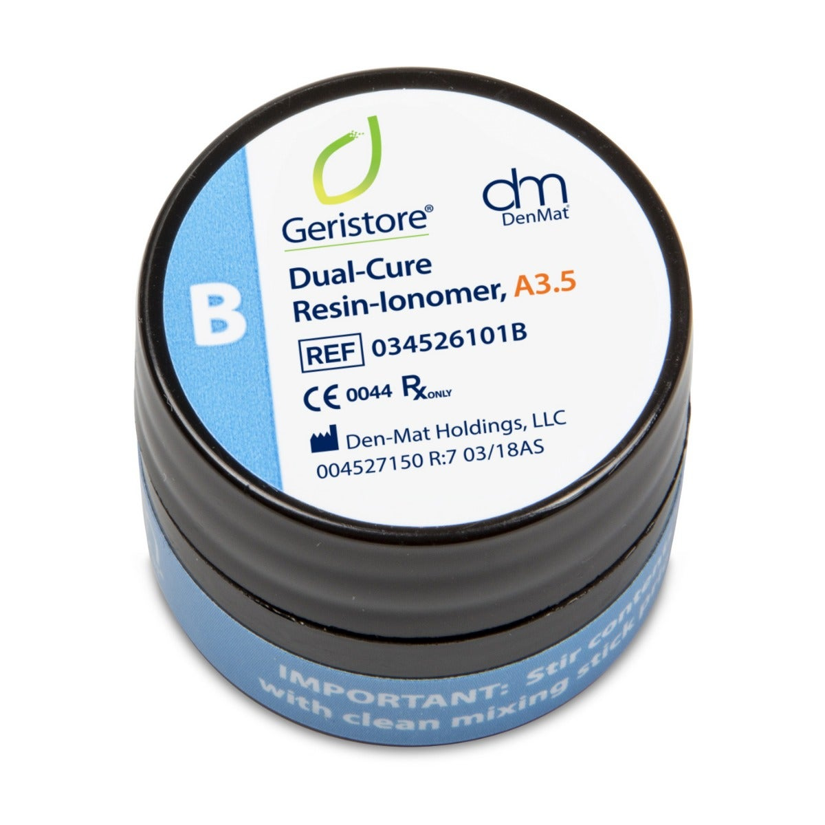 Dental Resin-Ionomer - Geristore  B Paste A3.5