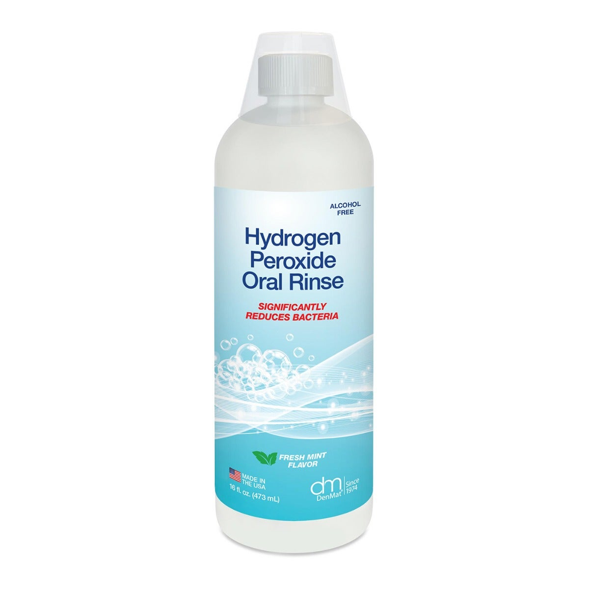 Hydrogen Peroxide Oral Rinse 6-Pack (16oz)