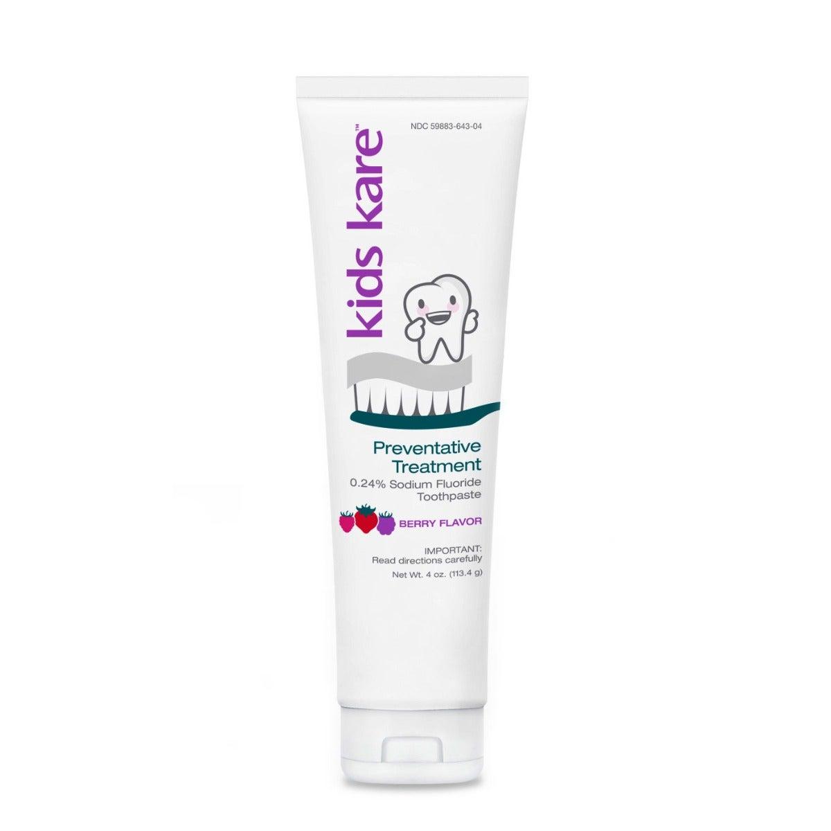 Kids Kare™ 0.24% Neutral Sodium Fluoride Toothpaste