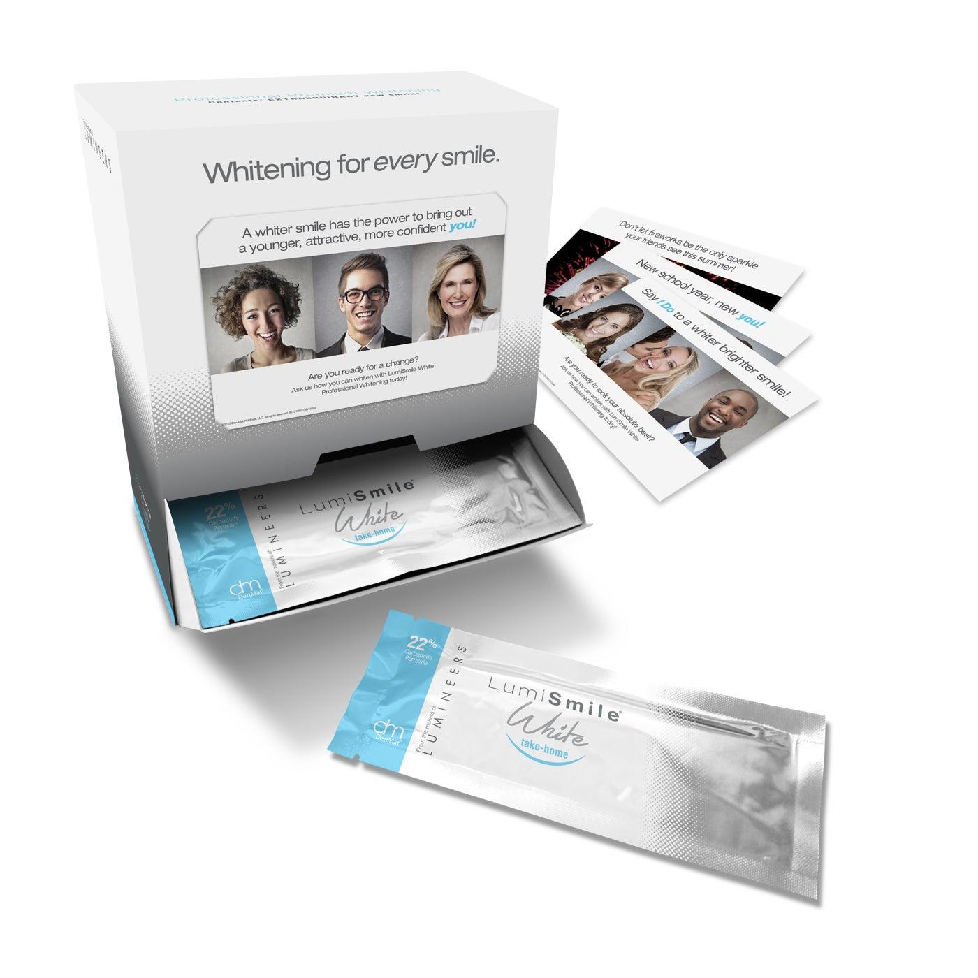 Dental Whitening Kit - LumiSmile® White Take-Home 22%