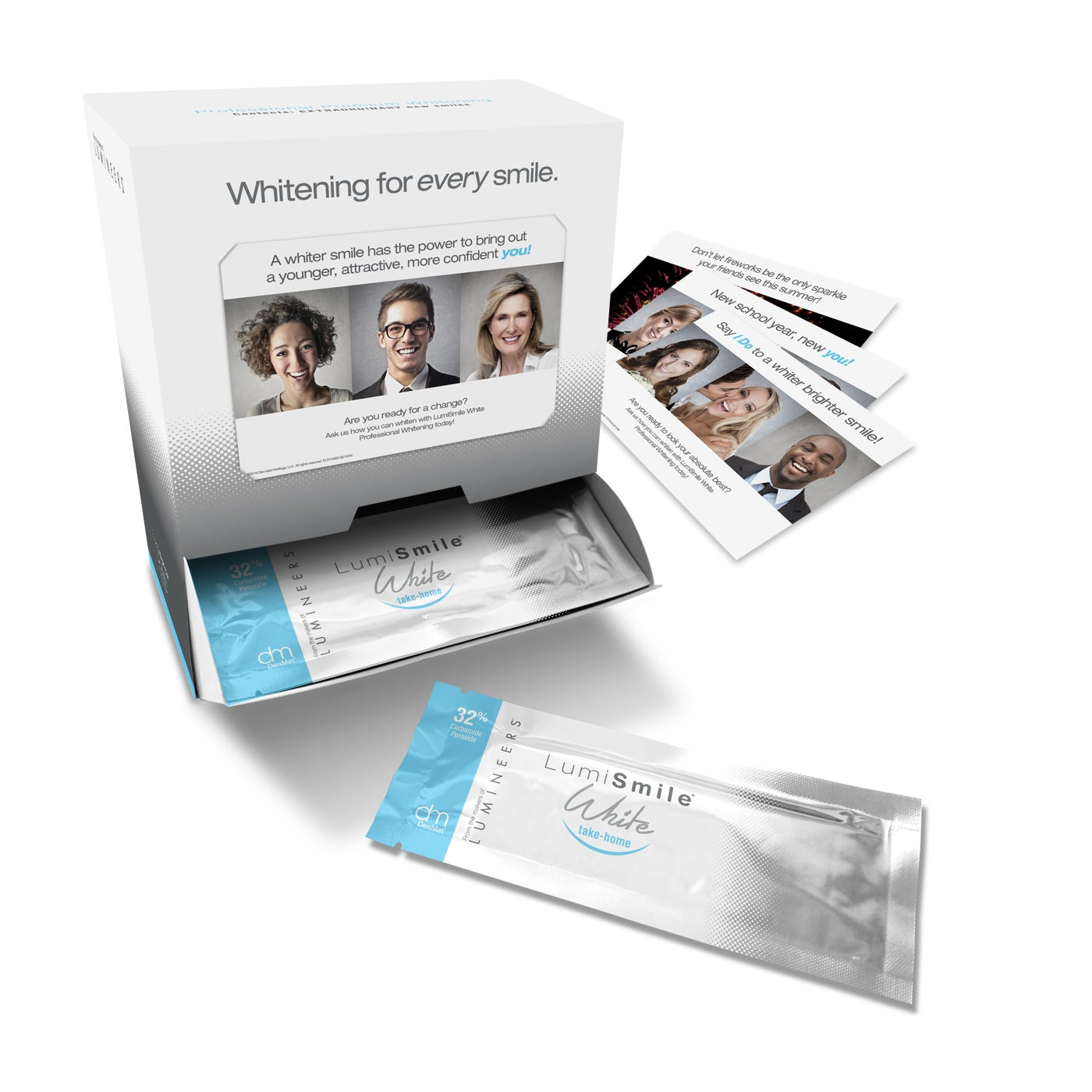 Dental Whitening Kit - LumiSmile® White Take-Home 32%