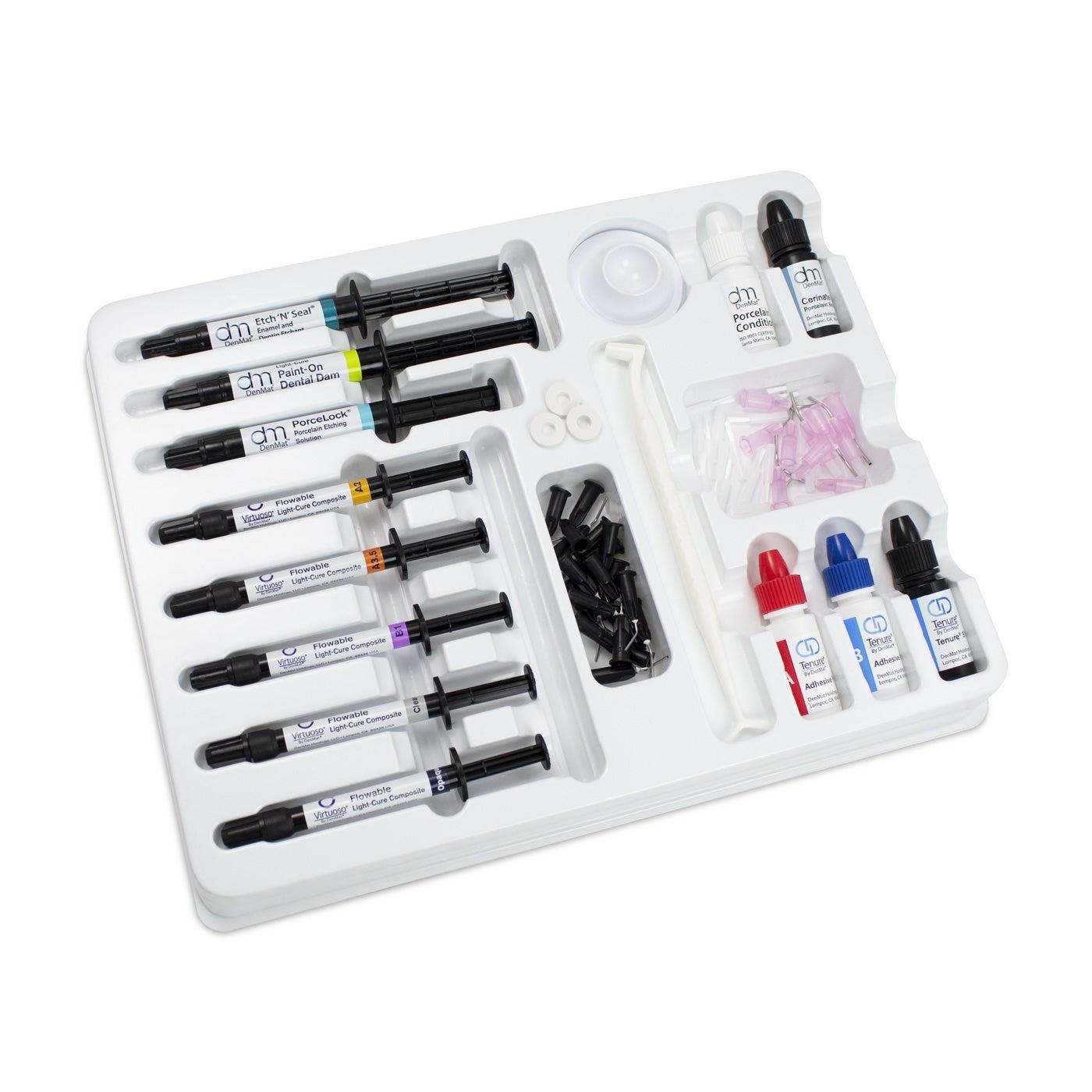Dental Porcelain Repair - Porcelain Repair PFM Kit