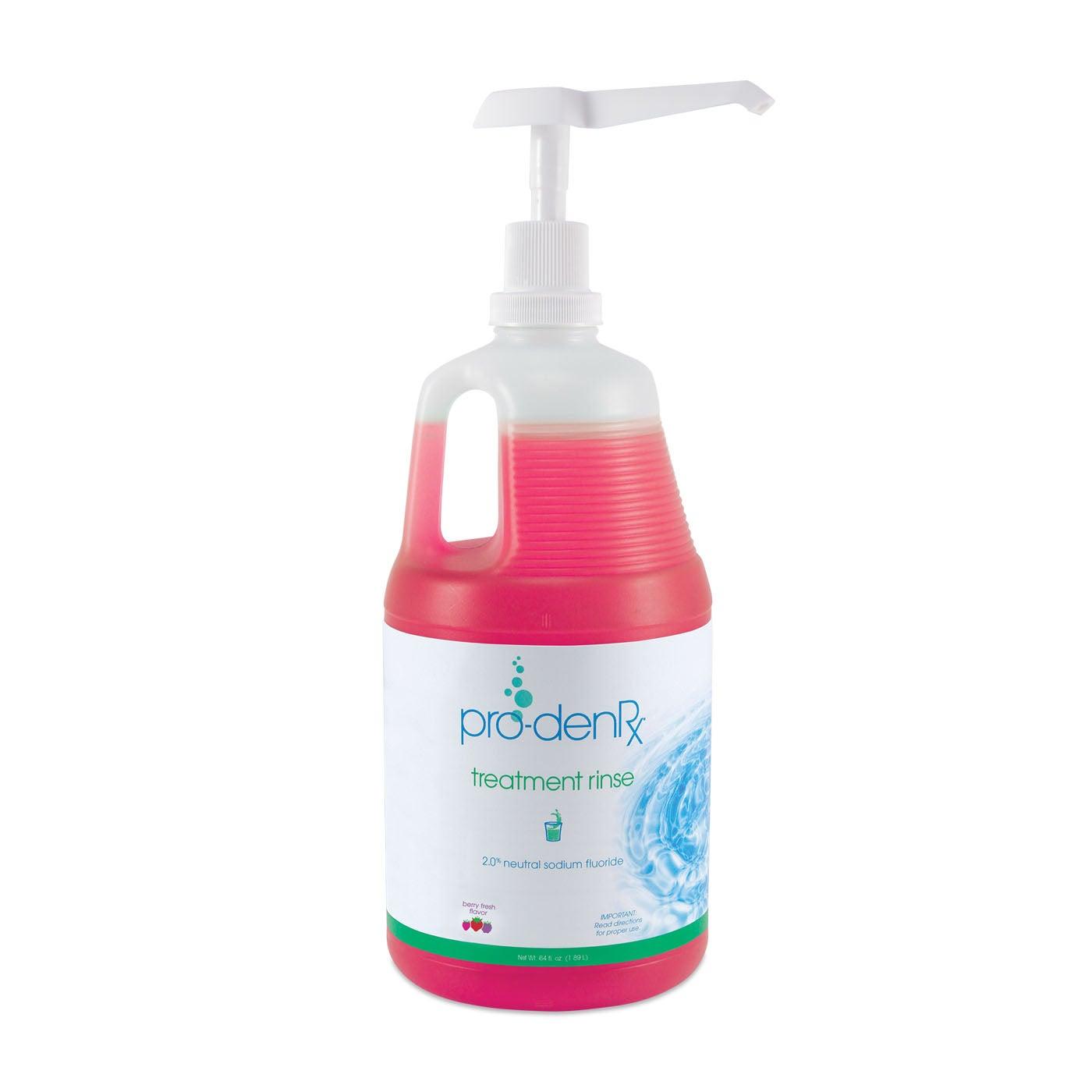 Pro-DenRx - Prescription Fluoride Rinse - 2% - 64 OZ - Berry