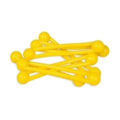 Pro-Ties Dental Instrument Bundling System Yellow