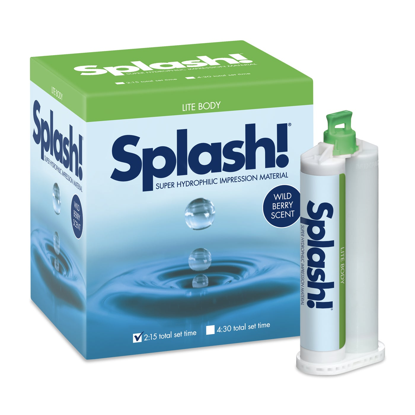 Dental Impression - Splash Half Set Time Lite Body