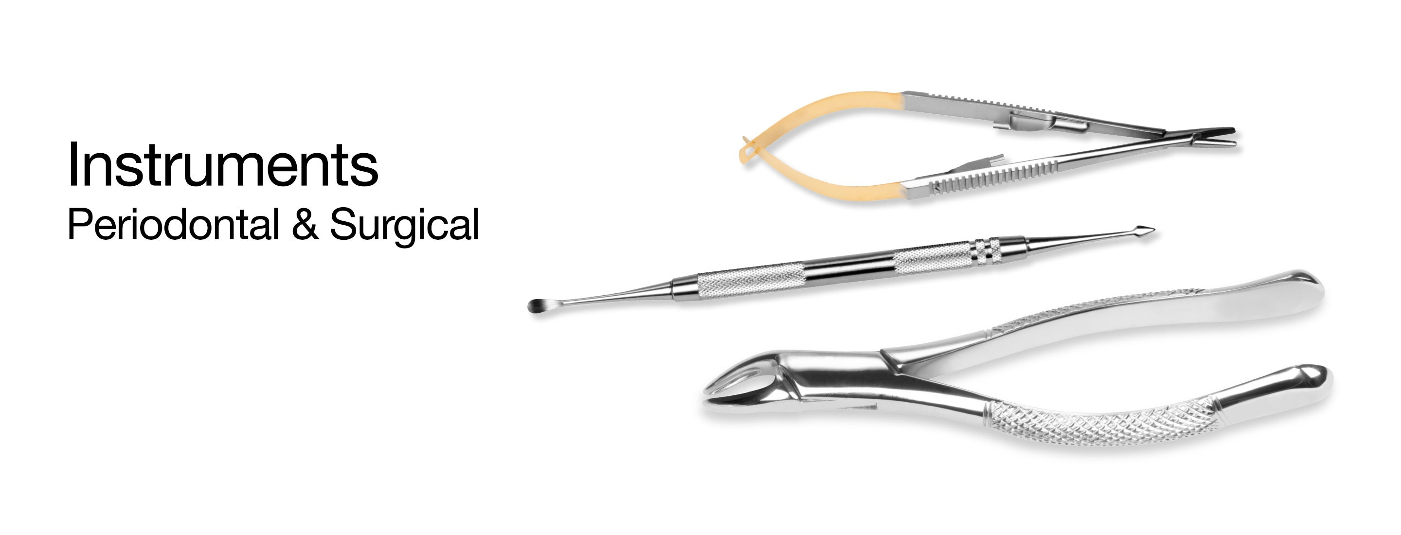 Carefully crafted by skilled professionals, DenMat's Hartzell® peridontal & surgical instruments have maintained the same high standards of manufacturing excellence established by their founders in 1935.
